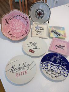 Workshop Handlettering meets Keramik